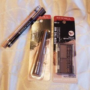 Rimmel london eyebrow products